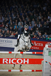 Lansink Jos (BEL) - Casper van Spieveld<br /> 3th in the Rolex FEI World Cup Qualifier<br /> Jumping Mechelen 2010<br /> © Dirk Caremans