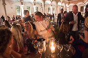 Italian Vanity Fair's 10 Anniversary celebration  hosted by Luca Dini. . Fondazione Cini, Isola di San Giorgio. Venezia.  1 September 2013