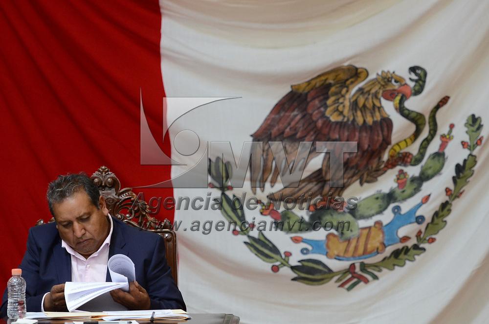 Toluca, México.- (Junio 21 2017).- Aspectos de la diputación permanente en la LIX Legsilatura del Estado de México, en la imagen, Javier Salinas Narváez diputado local por el PRD. Agencia MVT / Arturo Hernández.
