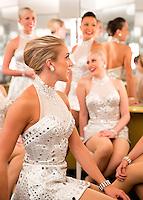 The Radio City Rockettes.