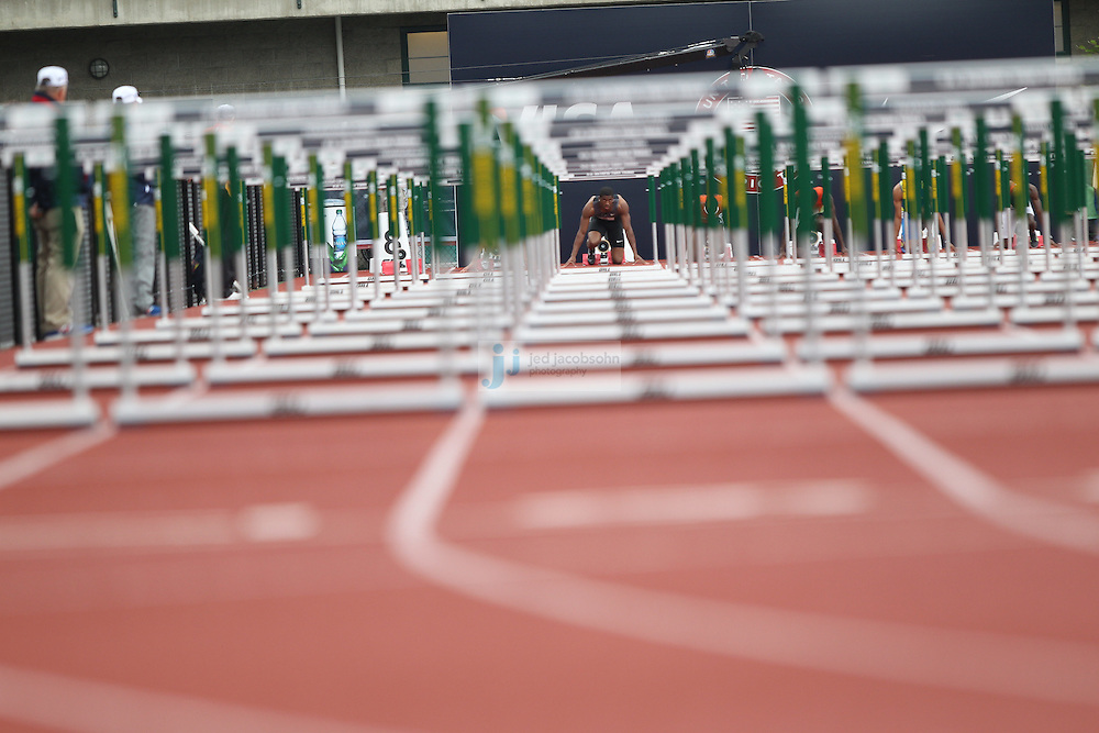 during day 9 of the U.S. Olympic Trials for Track & Field at Hayward Field in Eugene, Oregon, USA 30 Jun 2012..(Jed Jacobsohn/for The New York Times)....