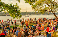 Riverside Park on the Upper West Side,  Manhattan, New York City, New York, USA designed by Frederick Law Olmsted