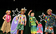 """Surfin Safari"" at the Sagamore Hills Elementary School Showcase of Stars talent night event in Atlanta on Friday Oct. 22, 2010. This photo was taken by second grader Lauren E. Tulis. (Lauren Tulis/Staff/laurentulis@clear.net)"
