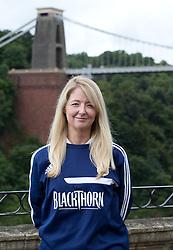 Bristol City physio Gill Holt - Photo mandatory by-line: Kieran McManus/JMP - Tel: Mobile: 07966 386802 31/07/2013 - SPORT - FOOTBALL - Avon Gorge Hotel - Clifton Suspension bridge - Bristol -  Team Photo