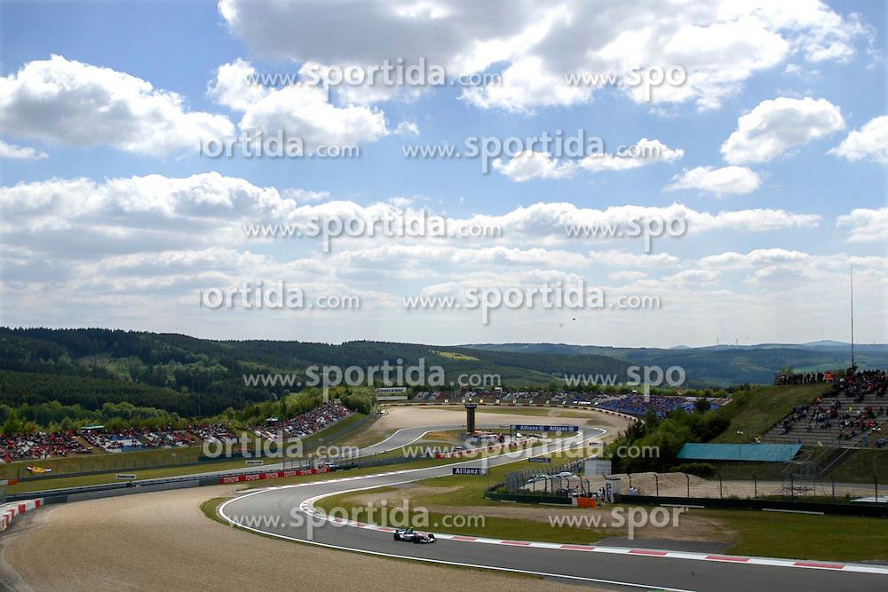 FORMEL 1: GP von Europa, Nuerburgring, 28.05.2004<br /> Rennstrecke, Illustration<br /> &Atilde;'&Acirc;&copy; pixathlon