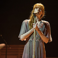 Glasgow, Scotland, UK. 17th November, 2018. Florence and The Machine, in concert at The SSE Hydro, Credit: Stuart Westwood/Alamy Live News