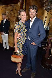 CAROLINE RUPERT and HICKMAN BACON at a party to celebrate the launch of the Dee Ocleppo 2015 Pre Fall Collection benefiting the Walkabout Foundation held at Loulou's, 5 Hertford Street, London on 16th June 2015.