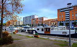 Pleasure craft on the Canal du Midi, Toulouse, France<br /> <br /> (c) Andrew Wilson | Edinburgh Elite media