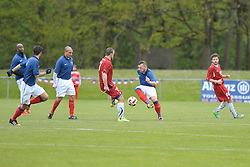 FRA v CZE at the 2016 Football des Sourds France V Tcheque Republique, Igny,