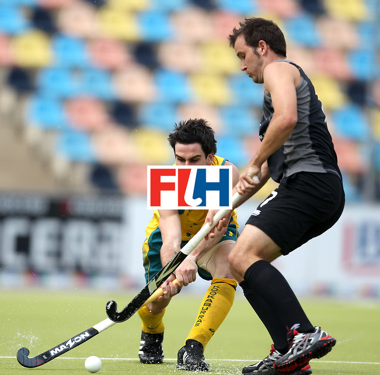Mens Champions Trophy, Monchengladbach, Germany, 2010<br /> Australia v new Zealand Day 1<br /> Australia's Kieran Govers in action against New Zealand<br /> Credit: Grant Treeby<br /> <br /> Editorial use only (No Archiving) Unless previously arranged