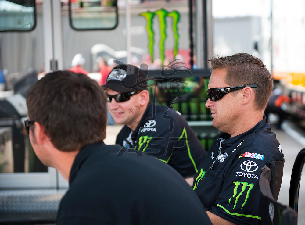 NEWTON, IA - July 04, 2012: Kurt Busch (54) during qualifying for the U.S. Cellular 250 race at Iowa Speedway in Newton, IA.