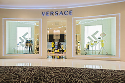 view of Versace fashion boutique inside Dubai Mall in United Arab Emirates