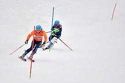 FITZPATRICK Menna B2 GBR Guide: KEHOE Jennifer competing in the ParaSkiAlpin, Para Alpine Skiing, Slalom at the PyeongChang2018 Winter Paralympic Games, South Korea.