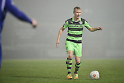 Forest Green Rovers Midfielder, Marcus Kelly (10) during the FA Trophy match between Forest Green Rovers and Truro City at the New Lawn, Forest Green, United Kingdom on 10 December 2016. Photo by Adam Rivers.