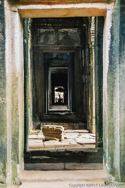 Inside Angkor Wat Temples, Siem Reap Cambodia