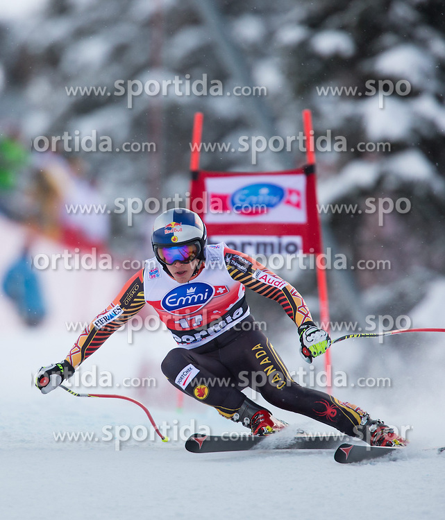 29.12.2013, Stelvio, Bormio, ITA, FIS Ski Weltcup, Bormio, Abfahrt, Herren, im Bild Erik Guay (CAN, 3. Platz) // 3rd place Erik Guay of Canada in action during mens downhill of the Bormio FIS Ski Alpine World Cup at the Stelvio Course in Bormio, Italy on 2013/12/29. EXPA Pictures © 2013, PhotoCredit: EXPA/ Johann Groder