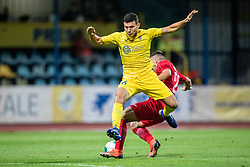 Josip Corluka  of NK Domzale during 2nd Leg Football match between NK Domzale and FC Balzan  in First Qualifying match of UEFA Europa League 2019/2020, on July 18, 2019 in Sports park Domzale, Domzale, Slovenia. Photo by Ziga Zupan / Sportida