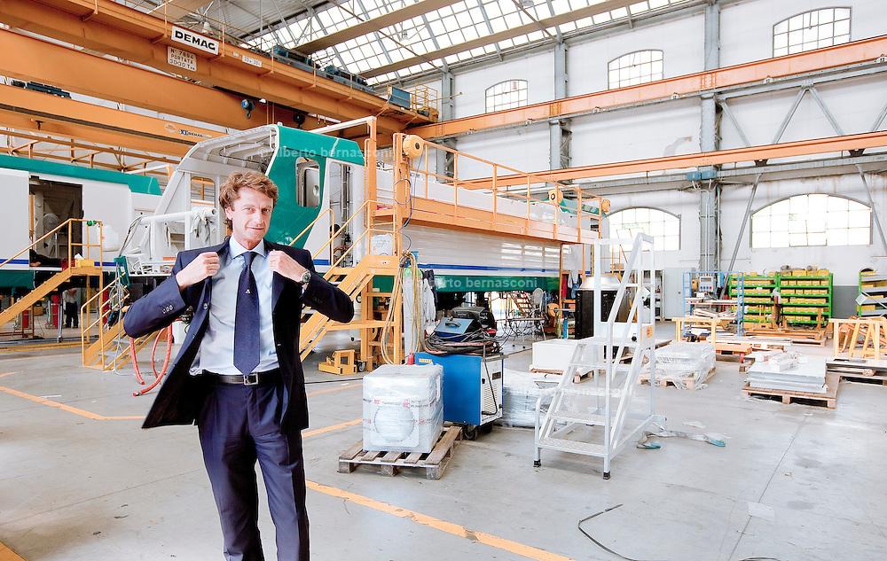 Speciale Liguria, Vado Ligure, Luigi Corradi, direttore Generale dello stabilimento Bombardier.