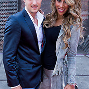 NLD/Amsterdam/20130714 - AFW 2013 Zomer, modeshow Tony Cohen inloop, Glennis Grace en Salvatore Totti