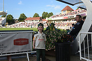 Young Notts fan during the Natwest T20 Blast North Group match between Nottinghamshire County Cricket Club and Worcestershire County Cricket Club at Trent Bridge, West Bridgford, United Kingdom on 26 July 2017. Photo by Simon Trafford.