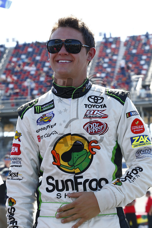 May 06, 2017 - Talladega, Alabama, USA: Gray Gaulding (23) hangs out on pit road during qualifying for the GEICO 500 at Talladega Superspeedway in Talladega, Alabama.
