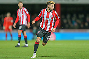 Brentford midfielder Emiliano Marcondes (17) during the The FA Cup match between Brentford and Stoke City at Griffin Park, London, England on 4 January 2020.