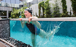 23.06.2017, Hotel Forsthofgut, Leogang, AUT, OeSV, Schwimmtraining Damen Speed Team, im Bild Cornelia Hütter (AUT) // during a swimmtraining of the Austrian Ladies Speed Team at the Hotel Forsthofgut, Leogang, Austria on 2017/06/23. EXPA Pictures © 2017, PhotoCredit: EXPA/ JFK