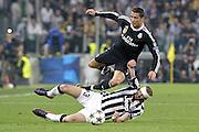 © Filippo Alfero<br /> Juventus-Real Madrid, Champions League 2014/2015<br /> Torino, 05/05/2015<br /> sport calcio<br /> Nella foto: Cristiano Ronaldo e Giorgio Chiellini