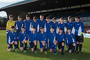 St. Johns team -  Baldragon v St.John's in the U14 Urquhart Trophy Final (sponsored by DSA) at Dens Park, Dundee<br /> <br /> <br />  - &copy; David Young - www.davidyoungphoto.co.uk - email: davidyoungphoto@gmail.com