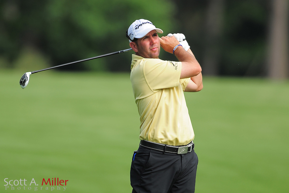 Josh Teater during the third round of the Wells Fargo Championship at the Quail Hollow Club on May 5, 2012 in Charlotte, N.C. ..©2012 Scott A. Miller.
