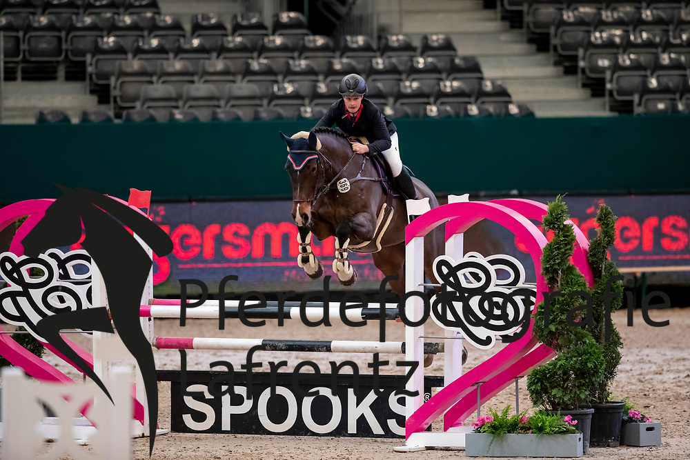 MÜLLER Melanie (GER), April Dream<br /> Leipzig - Partner Pferd 2019<br /> SPOOKS-Amateur Trophy<br /> Small Tour<br /> 18. Januar 2019<br /> © www.sportfotos-lafrentz.de/Stefan Lafrentz