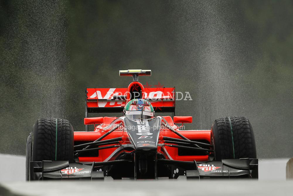 Motorsports / Formula 1: World Championship 2010, GP of Belgium, 25 Lucas di Grassi (BRA, Virgin Racing),