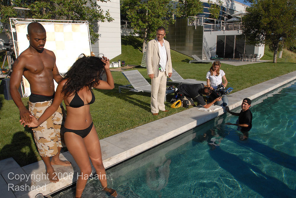 """Immigrant Film music video production of  Ray-J's single, """"Let's Play House"""" filmed in Malibu, California."""