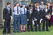 71st Anniversary of the Dieppe Raid held at Newhaven Fort, East Sussex followed by a Memorial Service at the Canadian Memorial at South Way. March of the Standard Bearers and Veterans from Denton Island to the Memorial .<br />