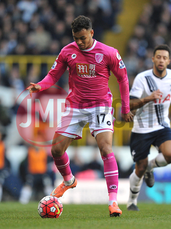 Joshua King of Bournemouth - Mandatory by-line: Paul Knight/JMP - Mobile: 07966 386802 - 20/03/2016 -  FOOTBALL - White Hart Lane - London, England -  Tottenham Hotspur v AFC Bournemouth - Barclays Premier League