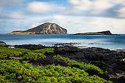 Rabbit Island from Makapu'u Beach on O'ahu