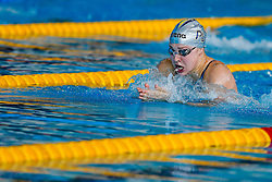 Ruta Meilutyte pf Plymouth and Lithuania wins the heats of the Womens 100m Breaststroke  - Photo mandatory by-line: Rogan Thomson/JMP - 07966 386802 - 16/04/2015 - SPORT - SWIMMING - The London Aquatics Centre, England - Day 4 - British Swimming Championships 2015.