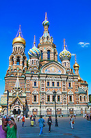 Cathedral of the Resurrection of Christ or The Church of the Savior on Spilled Blood (and several other names) in St. Petersburg, Russia. Built on the site where Tsar Alexander II was assassinated. Image taken with a Nikon 1 V2 camera and 6.7-13 mm VR lens (ISO 160, 11.5 mm, f/5.6, 1/1000 sec) and Processed with Capture One 7 Pro and Nik Viveza 2.