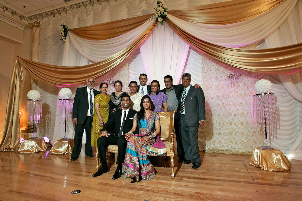 Amarpreet Atwal and Rajdeep Dhaliwal's wedding reception, June 5, 2010.