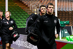 Ian Whitten of Exeter Chiefs arrives at Harlequins - Mandatory by-line: Robbie Stephenson/JMP - 30/11/2018 - RUGBY - Twickenham Stoop - London, England - Harlequins v Exeter Chiefs - Gallagher Premiership Rugby
