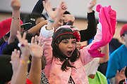"10/24/13 — BOSTON — Major League Baseball and Boston Red Sox officials host a ""Wanna Play"" event with local Boys and Girls Club members at the Roslindale Community Center on Oct. 24, 2013."