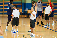 Coach Sergio Scariolo during the Spain training session before EuroBasket 2017 in Madrid. August 02, 2017. (ALTERPHOTOS/Borja B.Hojas)