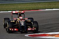 Pastor Maldonado (VEN) Lotus F1 E21.<br /> United States Grand Prix, Sunday 2nd November 2014. Circuit of the Americas, Austin, Texas, USA.
