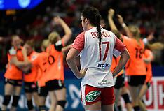 20161216 Semifinale Danmark-Holland,  EHF Handball Womens EURO 2016