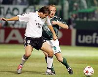 Fotball, 14. september,  UEFA Champions League, Panathinaikos - Rosenborg, , Roar Strand , Rosenborg og Münch , Panathinaikos