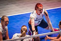 16-07-2018 NED: World Championship sitting volleyball women, Arnhem<br /> Netherlands - Rwanda 3-0 / Karin van der Haar #5 of Netherlands
