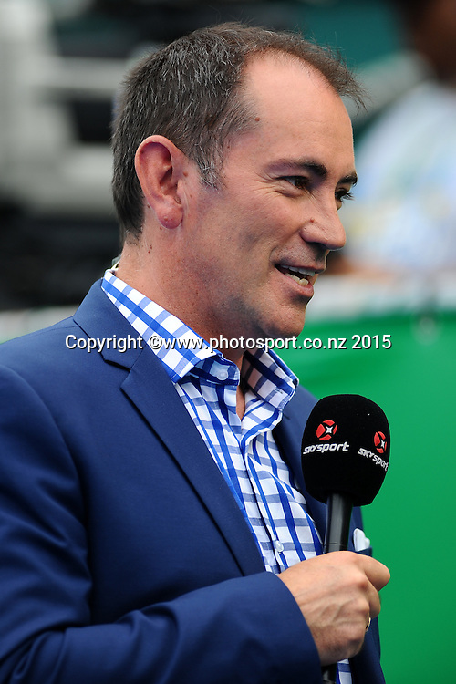 Mark Stafford from the New Zealand TAB during the Heineken Open. ASB Tennis Centre, Auckland, New Zealand. Monday 12 January 2015. Copyright photo: Chris Symes/www.photosport.co.nz