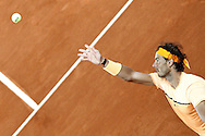 Rafael Nadal during the Madrid Open at Manzanares Park Tennis Centre, Madrid<br /> Picture by EXPA Pictures/Focus Images Ltd 07814482222<br /> 05/05/2016<br /> ***UK & IRELAND ONLY***<br /> EXPA-ESP-160505-0099.jpg