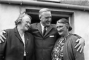 18/05/1961<br /> 05/18/1961<br /> 18 May 1961<br /> U.S. Ambassador Edward Grant Stockdale visits relatives of President John F. Kennedy at Dunganstown, Co. Wexford. Mary Ryan on right.