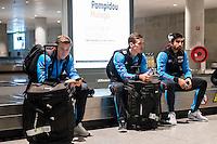 BENAHAVIS - 02-01-2017, Trainingskamp, AZ, AZ speler Mattias Johansson, AZ speler Mats Seuntjens, AZ speler Alireza Jahanbakhsh